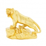 Quà tặng sinh nhật ý nghĩa: Tượng hổ phong thuỷ mạ vàng - 12CGH