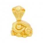 Quà tặng ý nghĩa cho người tuổi tỵ: Tượng rắn phong thuỷ mạ vàng - 12CGR