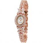 Đồng hồ nữ chính hãng Royal Crown 2527 dây đá vỏ vàng hồng