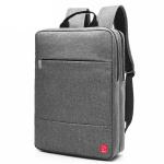 Balo laptop Glado cylinder - BLC010 (màu xám)