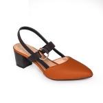 Giày cao gót thời trang nữ Erosska EH001 - Màu nâu