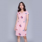 Đầm suông thời trang Eden D300 (hồng)
