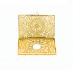 Quà tặng sếp cao cấp: Hộp đựng Name card mạ vàng – KO15