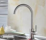 Vòi chậu rửa bát nóng lạnh inox304 Zento SUS5563