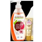 Sữa tắm Whitening & Perfume, Detox Sắc Ngọc Khang 520g (bộ quà tặng)