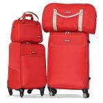 Combo vali du lịch gia đình Macat - Đỏ