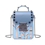 Túi mini đinh xanh da trời D02B193 Venuco Madrid