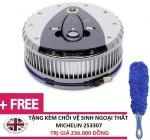 Máy bơm lốp đa năng Michelin 12260 tặng Chổi vệ sinh ngoại thất Michelin 253307