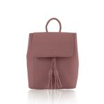 Balo thời trang Verchini màu hồng ruốc 010627