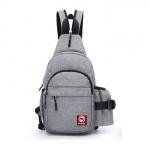 Túi đeo chéo kết hợp balo thời trang HARAS HR225(Xám)