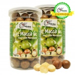 Combo 2 hộp hạt macca Úc nứt vỏ Smile Nuts 500g/hộp - Kèm dụng cụ tách vỏ