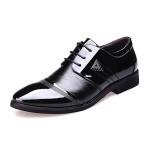 Giày da nam đế cao kiểu dây buộc Rozalo RM8523