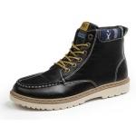 Giày nam cổ cao dã ngoại chống thấm đế bằng Rozalo RM58819