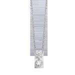 Bộ trang sức bạc PNJSilver Retro Forest đính đá màu trắng