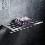 Giá để đồ kết hợp treo khăn inox304 Majesty series HC4812