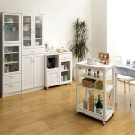 Bộ tủ bếp 8464697 - sản phẩm Nhật Bản - màu trắng