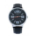 Đồng hồ nam dây da Julius Hàn Quốc JAH-073 JU1175 (đen)
