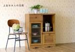 Tủ bếp 8464821 - sản phẩm Nhật Bản - màu nâu có vân