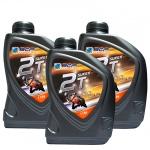 Combo 3 chai nhớt 2 thì cao cấp nhập khẩu Thái Lan - BCP SUPER 2T - TC/FD - 1 lít