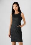 Đầm nữ Papka sát nách đen kẻ sọc 4055