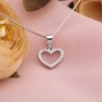 Mặt dây chuyền bạc Charm Heart