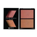 MFBD01 - Má hồng chic cheek blush duo Pink Champagne/ Havana Honey