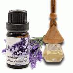 Combo tinh dầu oải hương - Essential Lavender Oil và khuếch tán treo xe - Essential oil diffuser botter