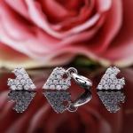 Bộ trang sức bạc Heart Of Princess