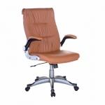 Ghế trưởng phòng IB344 tay điều chỉnh chân ngoại nhập cao cấp màu nâu
