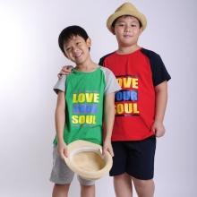 UKID16 - Set quần áo thun bé trai