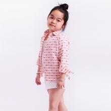 UKID98 - áo sơ mi bé gái