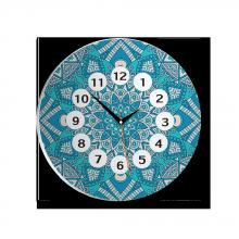 Đồng hồ gỗ tròn tictac - R008