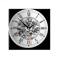 Đồng hồ gỗ tròn tictac - R002