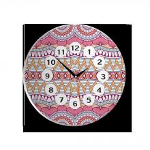 Đồng hồ gỗ tròn tictac - R010