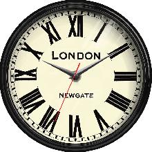 Đồng hồ gỗ tròn tictac - R024 London