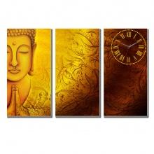 Tranh đồng hồ bộ ghép Tictac - BG0049 Phật phổ độ