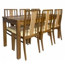 Bộ bàn ăn BL504-2 chợ nội thất