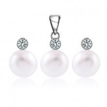 Bộ trang sức bạc Local Queen Pearl