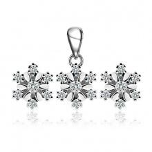 Bộ trang sức bạc Snowflake