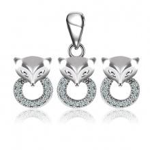 Bộ trang sức bạc Cute Fox