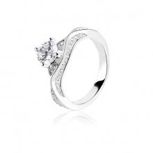 Nhẫn bạc Allegra