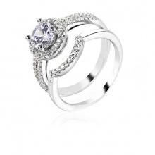 Nhẫn bạc Luxury Couple