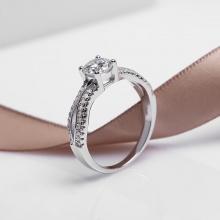Nhẫn bạc Lilac