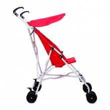Xe đẩy trẻ em Uno Go-S đỏ Hauck Đức