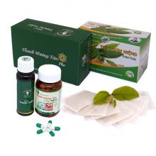 Combo điều trị bệnh hôi miệng Thanh Hương Tán Plus và trà thơm miệng