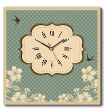 Dyvina 1T4040-31 - Đồng hồ tranh Yêu Thương