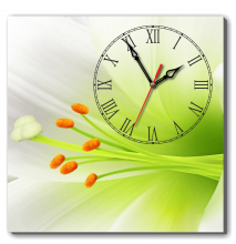 Dyvina 1T4040-107 - Đồng hồ tranh hoa