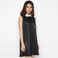 Đầm Hàn Quốc phối nơ - HK 275