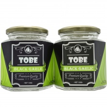 Tỏi đen cô đơn TOBE- Combo 2 hũ 150 gram (nguyên vỏ)
