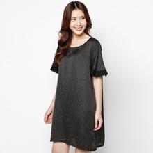 Đầm oversize cá tính tay loa - HK 506